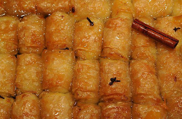 γαλακτομπουρεκάκια (βαρελάκια μικρά)