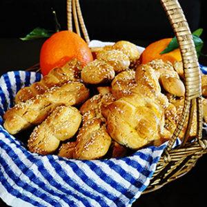 κουλουράκια πορτοκαλιού & βουτύρου